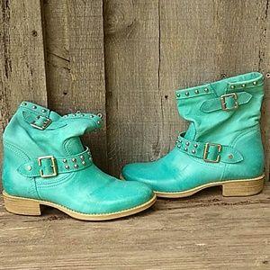 Annarita N Turquoise Boots